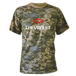Камуфляжная футболка CHEVROLET - FatLine