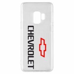 Чехол для Samsung S9 CHEVROLET