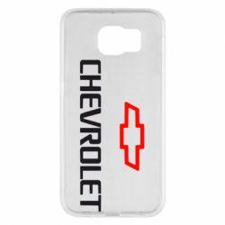 Чехол для Samsung S6 CHEVROLET