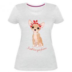 Жіноча стрейчева футболка Чиахуа