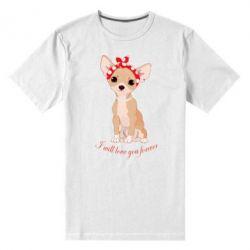 Чоловіча стрейчева футболка Чиахуа