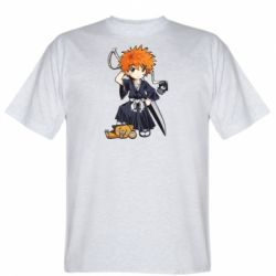 Чоловіча футболка Chibi Kurosaki Ichigo Bleach