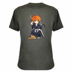 Камуфляжная футболка Chibi Kurosaki Ichigo Bleach