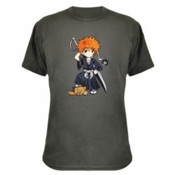 Камуфляжна футболка Chibi Kurosaki Ichigo Bleach