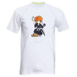 Мужская спортивная футболка Chibi Kurosaki Ichigo Bleach