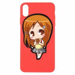 Чохол для iPhone X/Xs Chibi Orihime Bleach