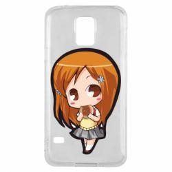 Чохол для Samsung S5 Chibi Orihime Bleach