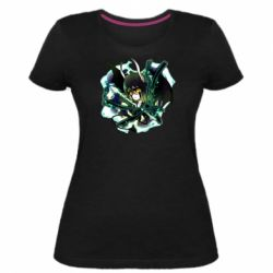 Жіноча стрейчева футболка Chibi Resureccion Ulquiorra