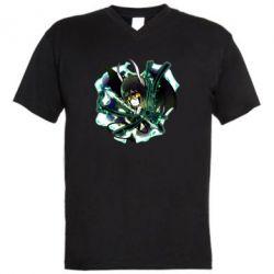 Чоловіча футболка з V-подібним вирізом Chibi Resureccion Ulquiorra