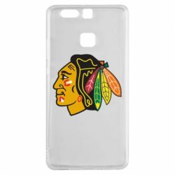 Чехол для Huawei P9 Chicago Black Hawks - FatLine