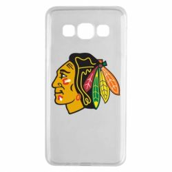 Чехол для Samsung A3 2015 Chicago Black Hawks - FatLine