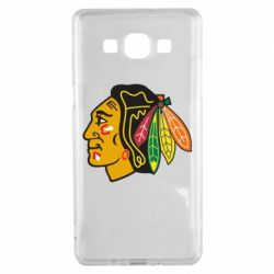 Чехол для Samsung A5 2015 Chicago Black Hawks - FatLine