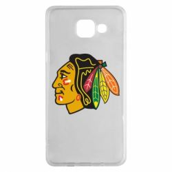 Чехол для Samsung A5 2016 Chicago Black Hawks - FatLine