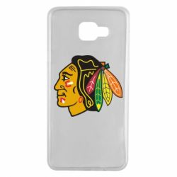 Чехол для Samsung A7 2016 Chicago Black Hawks - FatLine