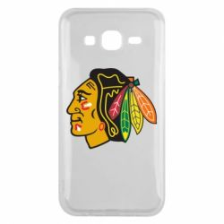 Чехол для Samsung J5 2015 Chicago Black Hawks - FatLine