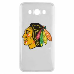 Чехол для Samsung J7 2016 Chicago Black Hawks - FatLine