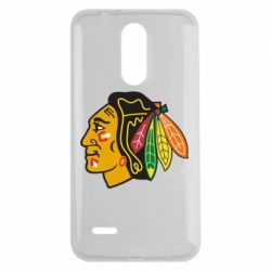 Чехол для LG K7 2017 Chicago Black Hawks - FatLine