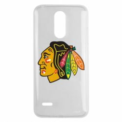 Чехол для LG K8 2017 Chicago Black Hawks - FatLine