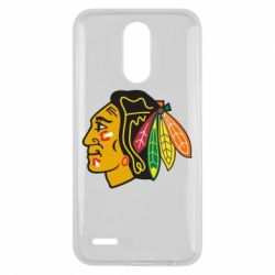 Чехол для LG K10 2017 Chicago Black Hawks - FatLine