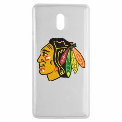 Чехол для Nokia 3 Chicago Black Hawks - FatLine