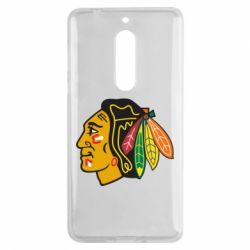 Чехол для Nokia 5 Chicago Black Hawks - FatLine