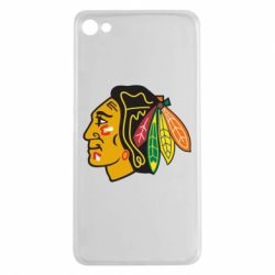 Чехол для Meizu U20 Chicago Black Hawks - FatLine