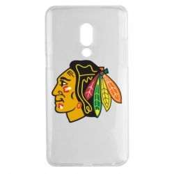 Чехол для Meizu 15 Plus Chicago Black Hawks - FatLine