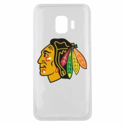 Чехол для Samsung J2 Core Chicago Black Hawks - FatLine