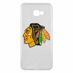 Чехол для Samsung J4 Plus 2018 Chicago Black Hawks - FatLine