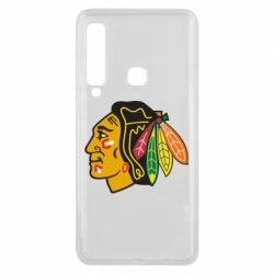 Чехол для Samsung A9 2018 Chicago Black Hawks - FatLine