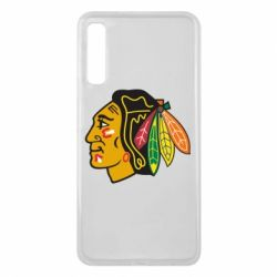 Чехол для Samsung A7 2018 Chicago Black Hawks - FatLine