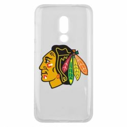Чехол для Meizu 16 Chicago Black Hawks - FatLine