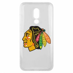 Чехол для Meizu 16x Chicago Black Hawks - FatLine