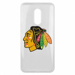Чехол для Meizu 16 plus Chicago Black Hawks - FatLine