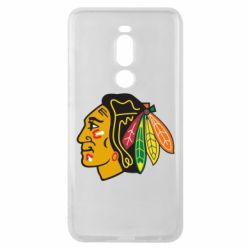 Чехол для Meizu Note 8 Chicago Black Hawks - FatLine