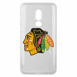 Чехол для Meizu V8 Chicago Black Hawks - FatLine