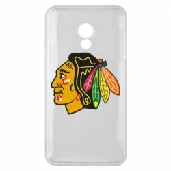 Чехол для Meizu 15 Lite Chicago Black Hawks - FatLine