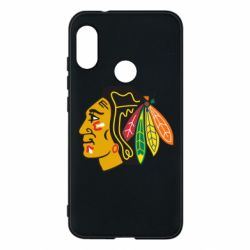 Чехол для Mi A2 Lite Chicago Black Hawks - FatLine