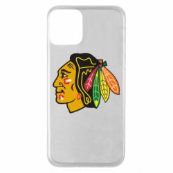 Чохол для iPhone 11 Chicago Black Hawks