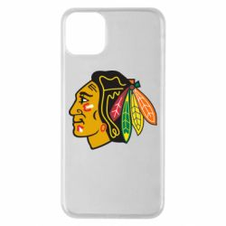 Чехол для iPhone 11 Pro Max Chicago Black Hawks