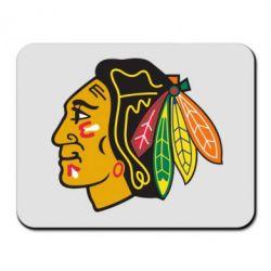 Коврик для мыши Chicago Black Hawks