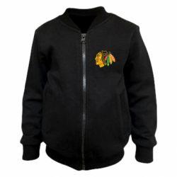 Детский бомбер Chicago Black Hawks