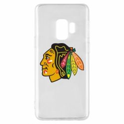 Чехол для Samsung S9 Chicago Black Hawks - FatLine