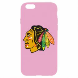 Чехол для iPhone 6 Plus/6S Plus Chicago Black Hawks - FatLine