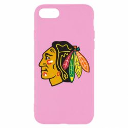 Чехол для iPhone 7 Chicago Black Hawks - FatLine