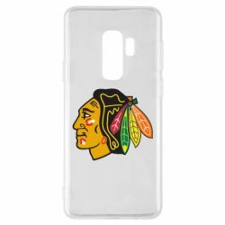 Чехол для Samsung S9+ Chicago Black Hawks - FatLine