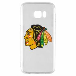 Чехол для Samsung S7 EDGE Chicago Black Hawks - FatLine