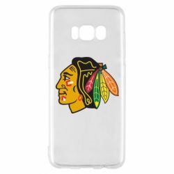 Чехол для Samsung S8 Chicago Black Hawks - FatLine