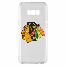 Чехол для Samsung S8+ Chicago Black Hawks - FatLine