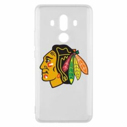 Чехол для Huawei Mate 10 Pro Chicago Black Hawks - FatLine